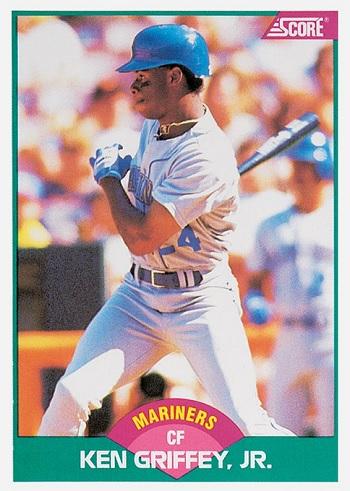 1989 Score Traded Ken Griffey Jr. rookie card