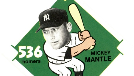 1980 Laughlin 300/400/500 Mickey Mantle — Silly and Solid